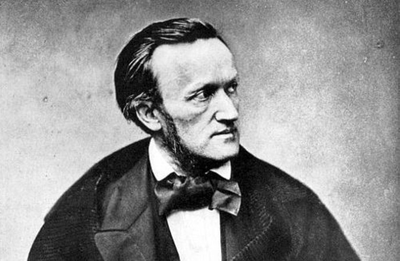 Richard Wagner, Paris, 1861 (photo credit: Wikimedia Commons)