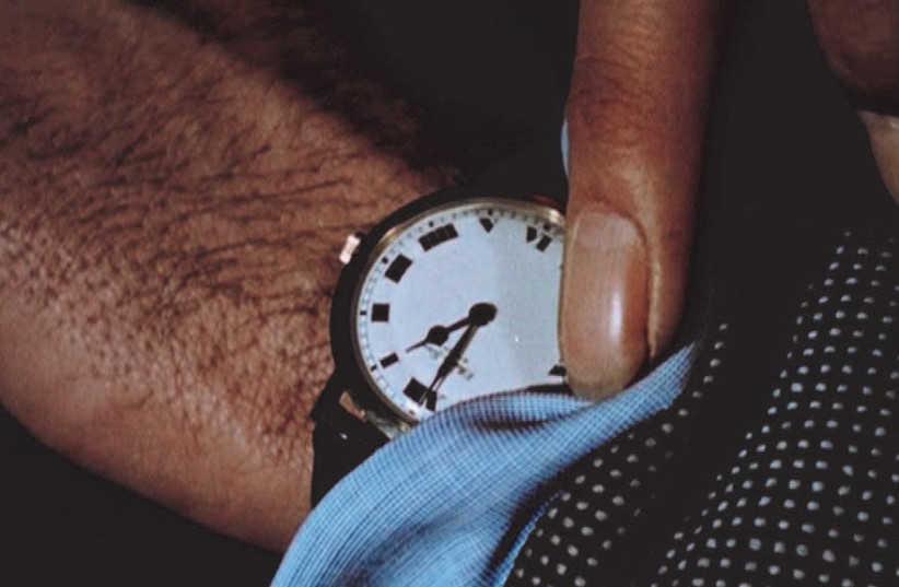 'The Clock' (photo credit: CHRISTIAN MARCLAY)