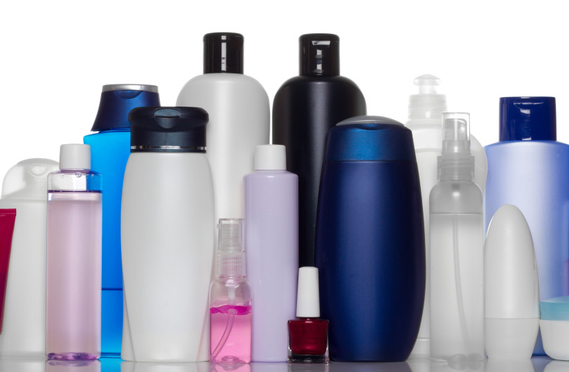 Collection of bottles of health and beauty products [Illustrative]. (photo credit: INGIMAGE)