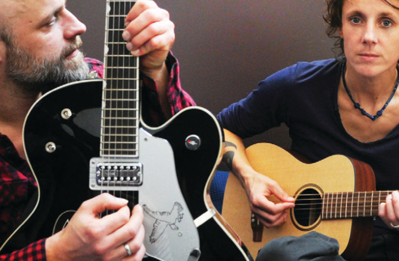 Belgian folk-rock band K's Choice (photo credit: Courtesy)