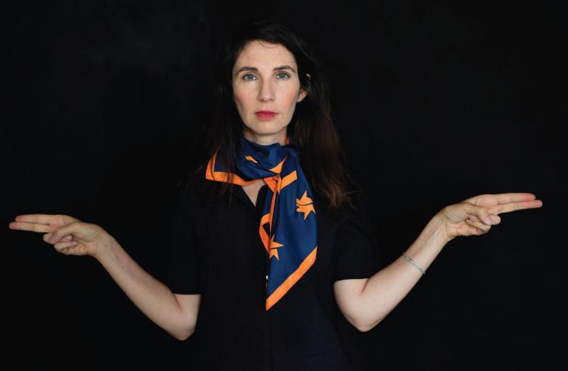 Keren Bar-Gil, independent curator (photo credit: MICHAL HARDOOF-RAZ)