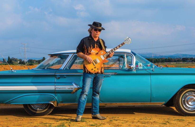 Blues musician Andy Watts (photo credit: ILYA KUTOSOV)