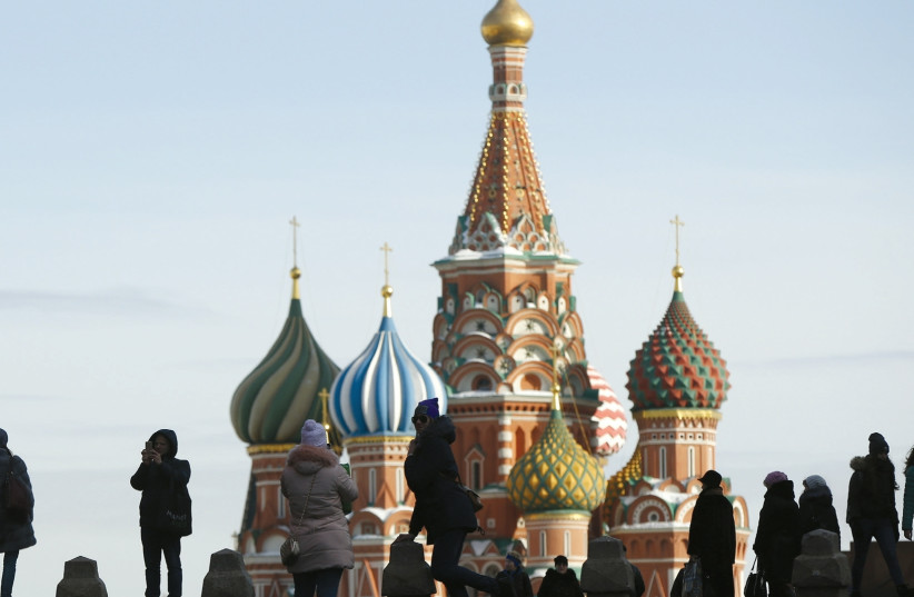 AUTHORITARIANISM IS back in the home of St. Basil's Cathedral. (photo credit: REUTERS)