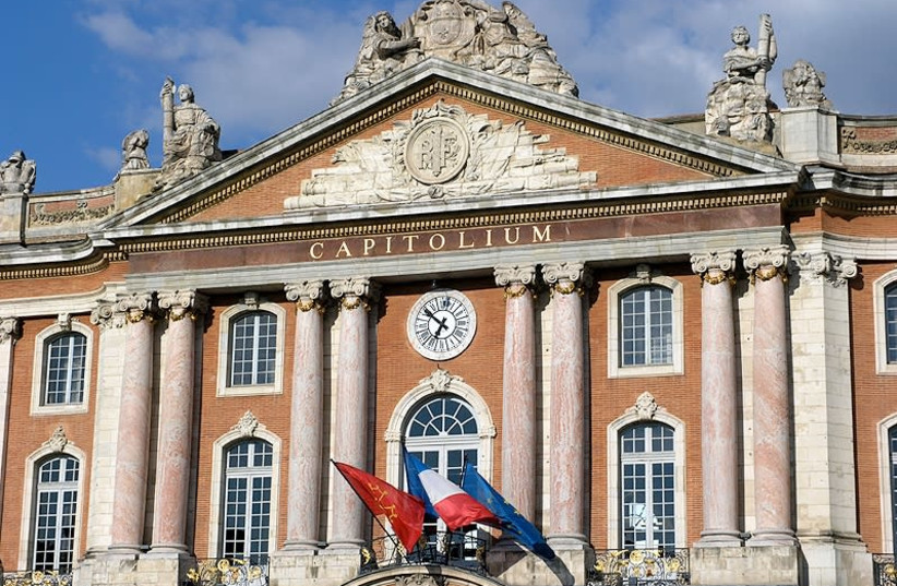 The Capitole de Toulouse, the city's main administrative building (photo credit: Wikimedia Commons)
