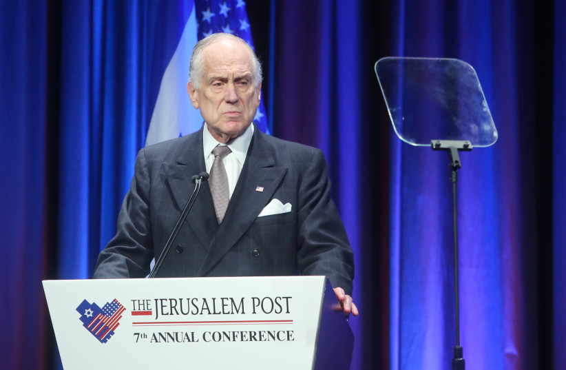 World Jewish Congress President Ronald Lauder at the 7th Annual JPost Conference in NY (photo credit: MARC ISRAEL SELLEM)