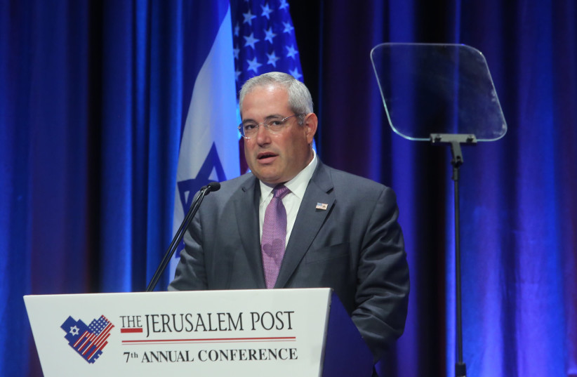 Paul Packer at the 7th Annual JPost Conference in NYat the 7th Annual JPost Conference in NY (photo credit: MARC ISRAEL SELLEM)