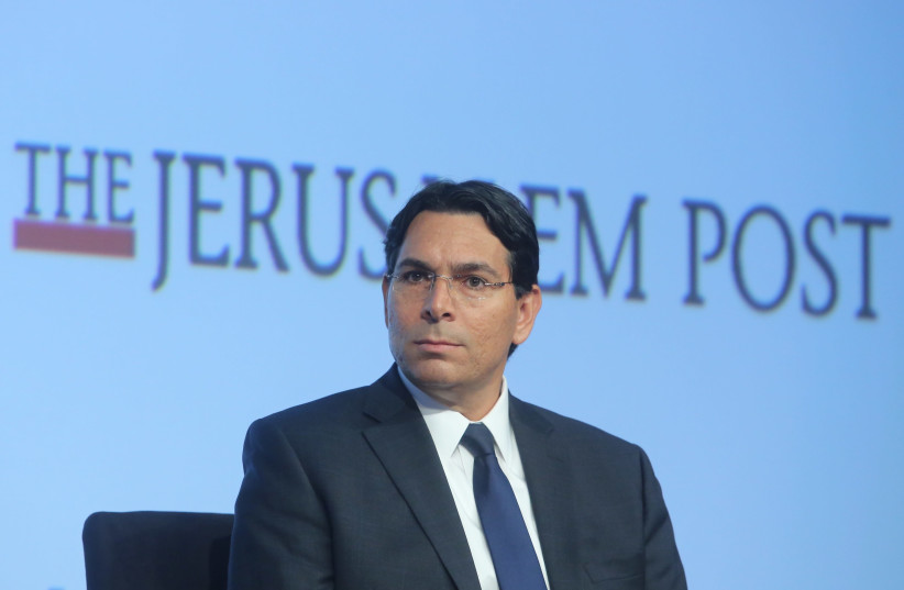 Ambassador Danny Danon, Permanent Representative of Israel to the UN at the 7th Annual JPost Conference in NY (photo credit: MARC ISRAEL SELLEM)