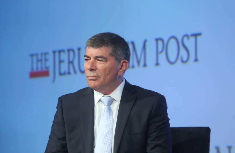 General (Ret.) Gabi Ashkenazi, former IDF Chief of General Staff and Chairman Of The Board of the Rashi Foundation at the 7th Annual JPost Conference in NY (photo credit: MARC ISRAEL SELLEM)