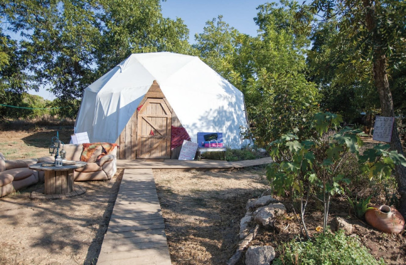 'THE RED TENT Retreat' takes place under the stars at Moshav Nir Tzvi (photo credit: Courtesy)