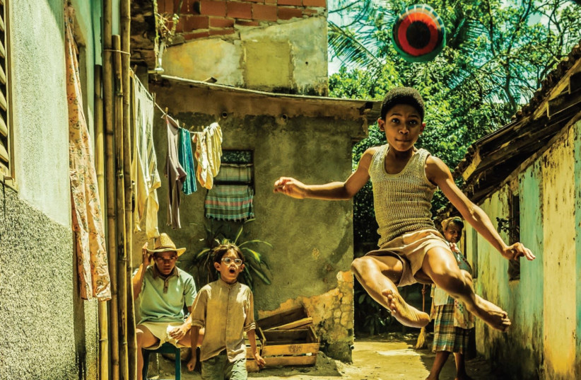 Scene from the film Pele – Birth of a Legend (photo credit: Courtesy)