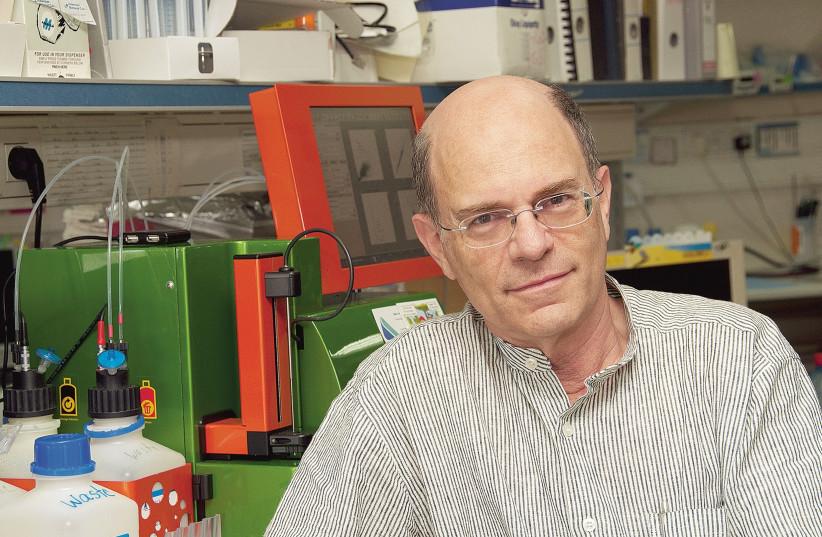 Prof. Yossi Shiloh (photo credit: COURTESY TEL AVIV UNIVERSITY)