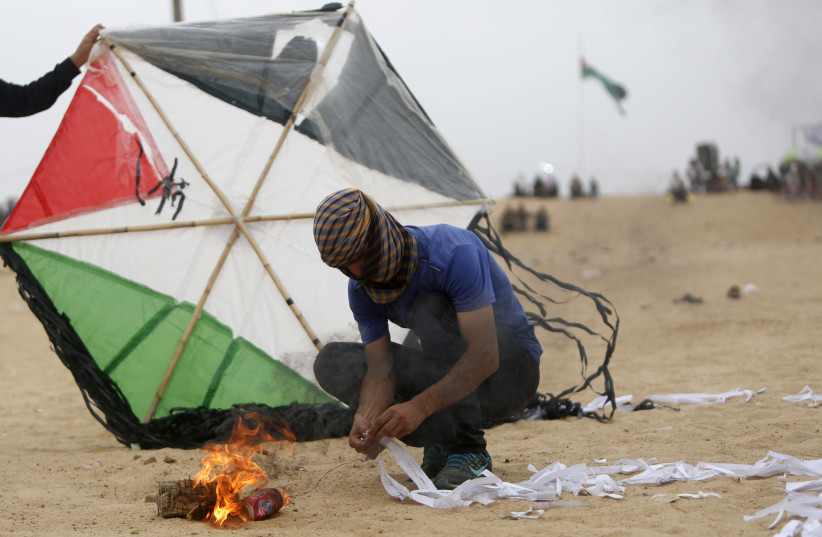IDF uncovers Hamas' operating system for kite terror