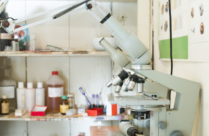 Laboratory equipment (photo credit: INGIMAGE)