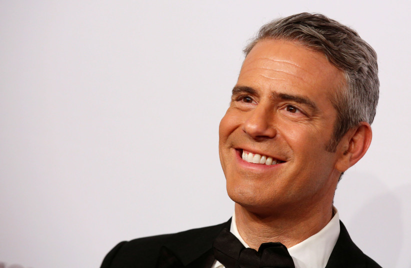 """Andy Cohen arrives for the Elton John AIDS Foundation's 15th Annual """"An Enduring Vision Benefit"""" in New York City, U.S., November 2, 2016. (photo credit: REUTERS/BRENDAN MCDERMID)"""