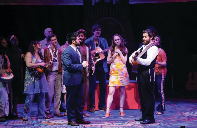 A scene from the musical 'Soul Doctor'  (photo credit: KEN JAQUES)