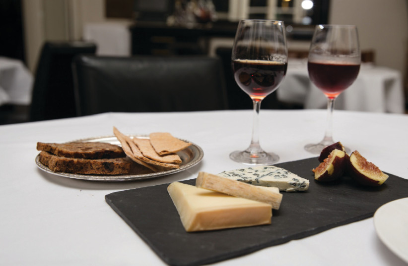 WHILE RED wine and cheese make a lovely combination (enjoyed here at Tel Aviv's Montefiore Hotel), in recent years there has been a quality revolution in white wines (photo credit: Courtesy)