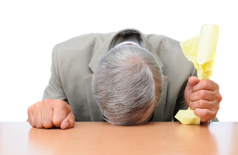 A man with gray hair  (photo credit: INGIMAGE)