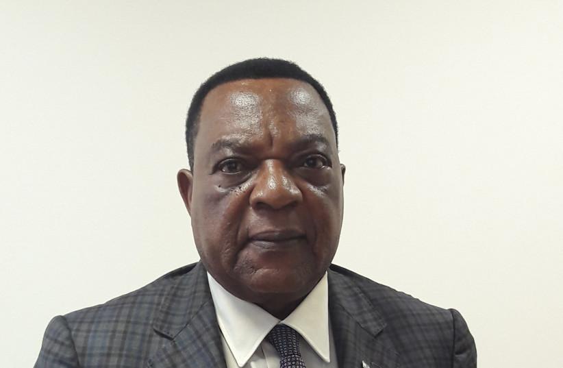 Tanzania's Foreign Minister Augustine Mahiga (photo credit: HERB KEINON)
