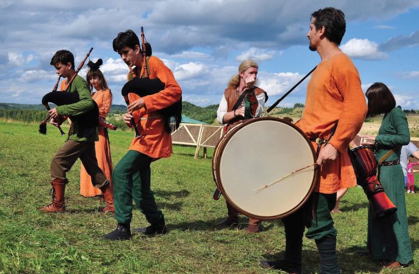 UKRAINE'S SPIRITUAL SEASONS – a beguiling, and seemingly disparate, mix of Irish and Viking folk music. (photo credit: MIKHAIL PAPUSH)