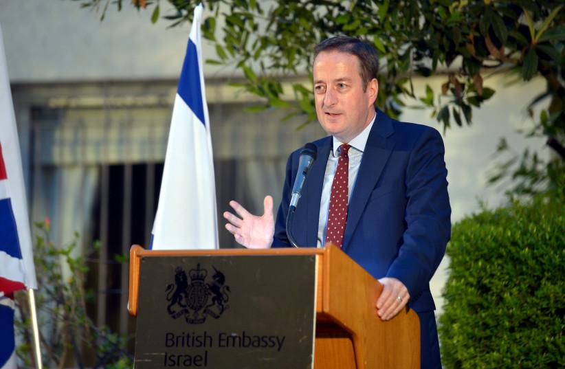 British Ambassador David Quarrey (photo credit: YOSSI ZELIGER)