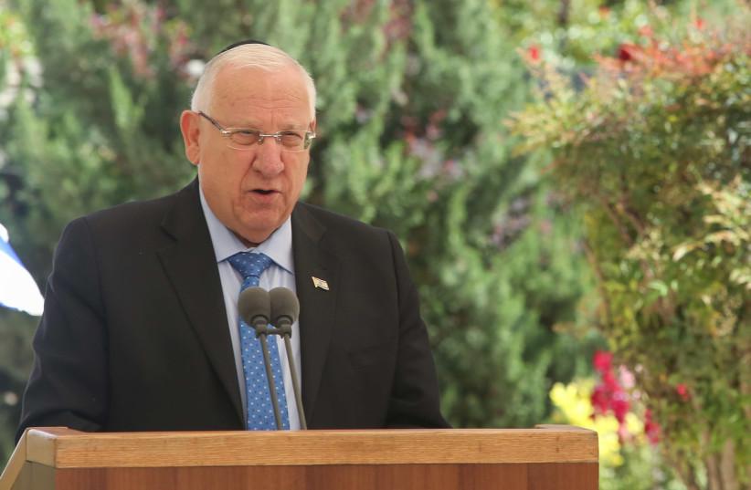 President Reuven Rivlin (photo credit: MARC ISRAEL SELLEM/THE JERUSALEM POST)