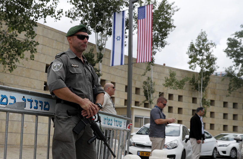 Palestinian Authority lashes out at Israel for opposite US consulate in Jerusalem