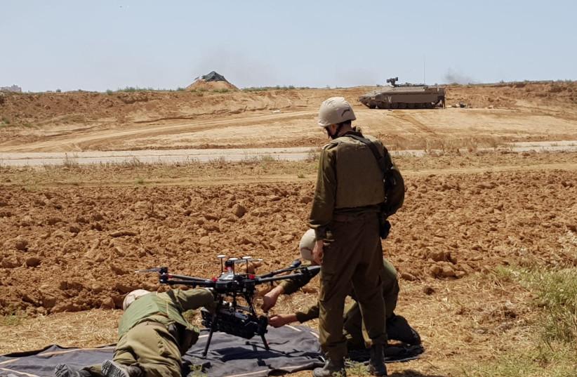 Two Palestinians killed, hundreds injured in clashes along Gaza border