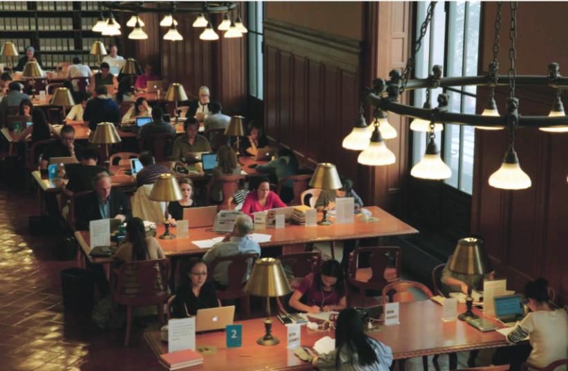 THE NEW YORK Public Library (photo credit: ZIPPORAH FILMS)