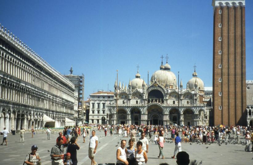 Venice's Piazza San Marco (photo credit: Wikimedia Commons)