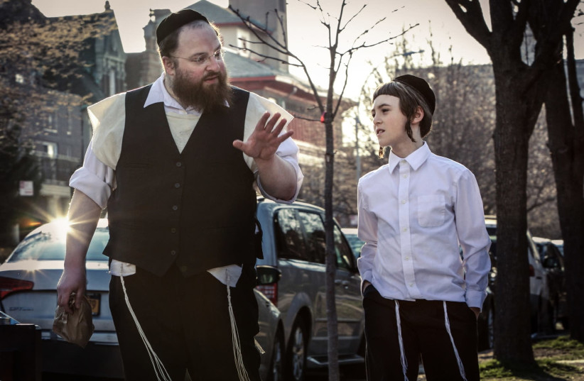 MENASHE LUSTIG (left) and Ruben Niborski. (Joshua Z Weinstein) (photo credit: Courtesy)