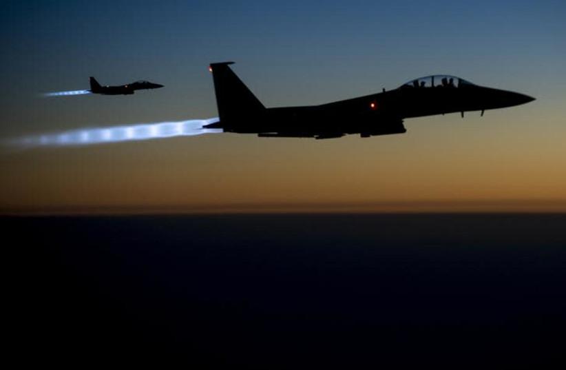 Avions de chasse F15E (crédit photo: US AIR FORCE PHOTO VIA REUTERS)