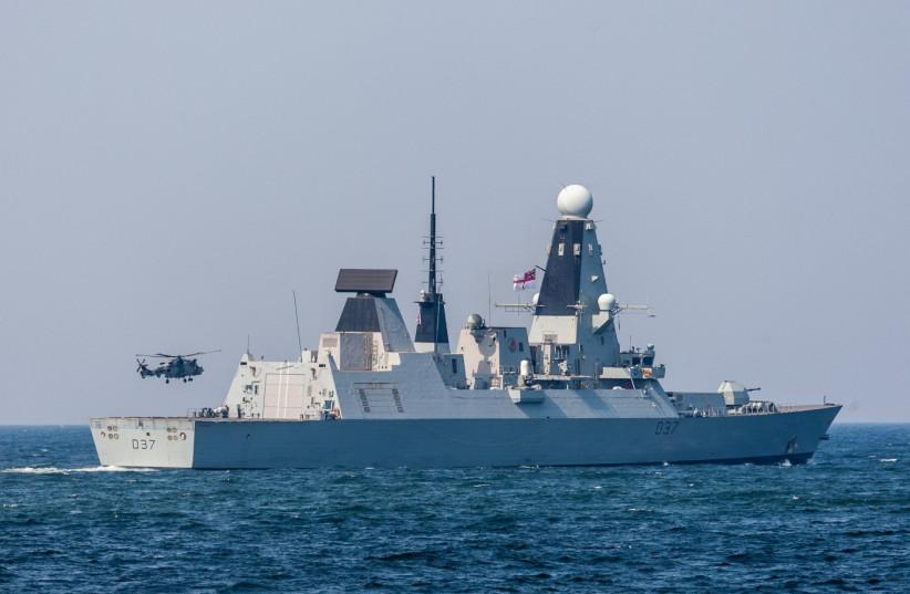 HMS Duncan (photo credit: NATO FILE PHOTO)