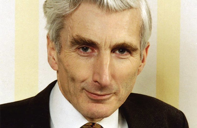 PROF. MARTIN REES, May 27, 2018. (photo credit: UNIVERSITY OF CAMBRIDGE)