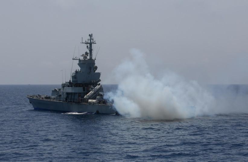 Israeli navy exercises (photo credit: MARC ISRAEL SELLEM)