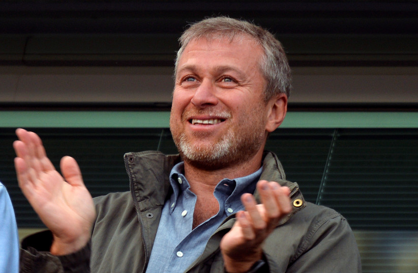 Chelsea FC owner Roman Abramovich (photo credit: TOBY MELVILLE/REUTERS)