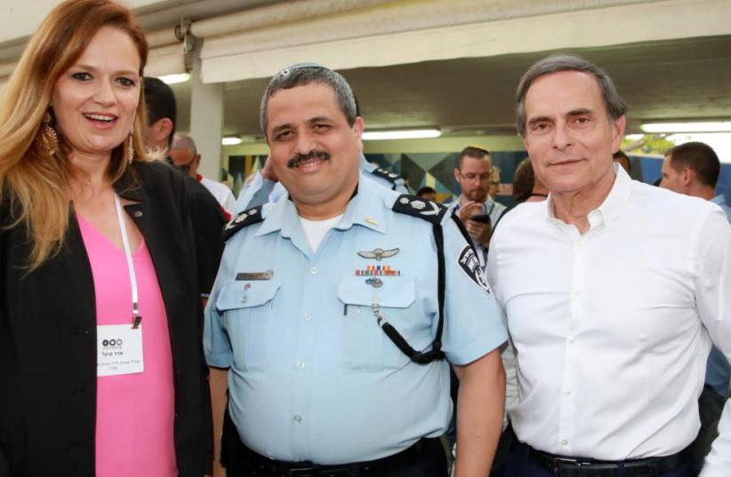 From left, Sigal Adar, Roni Alsheikh and Amnon Dick (photo credit: ITZIK BIRAN)