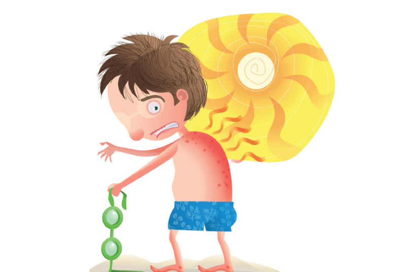 A boy at the beach in the summer (Illustrative) (photo credit: TNS)