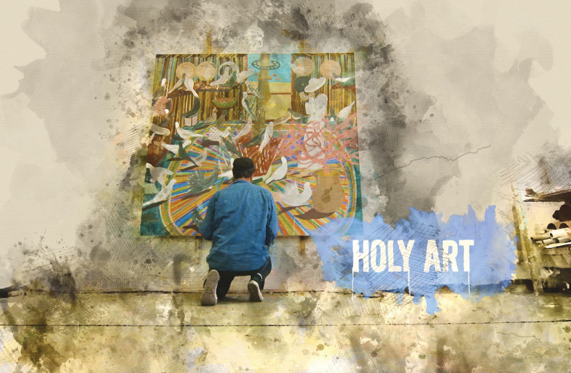 'Holy Art' (photo credit: SHAI AZOULAY)