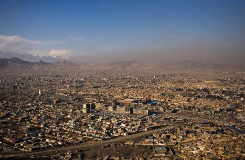 A general view of Kabul January 31, 2010. (photo credit: MARKO DJURICA/REUTERS)