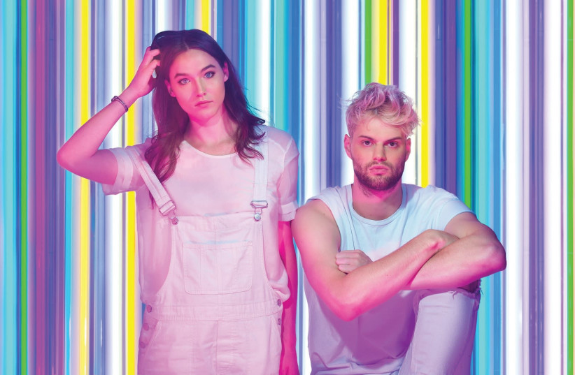 SOFI TUKKER'S Sophie Hawley-Weld and Tucker Halpern (photo credit: TOMA KOSTYGINA)