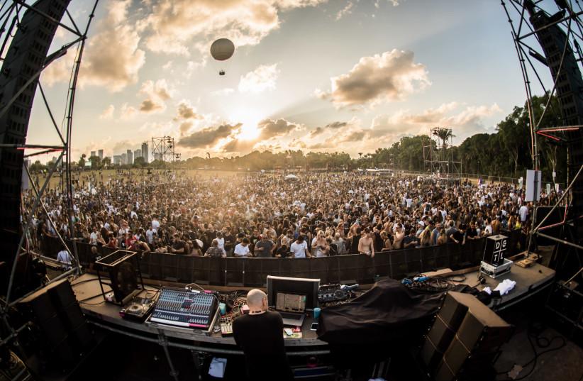 DGTL Music Festival in Tel Aviv, 2017 (photo credit: ALBERT LALAMAIEV)