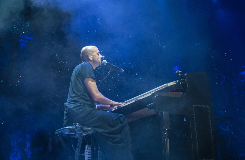 The Idan Raichel Project performs at the Rishon Lezion Live Park Monday, June 5, 2018. (photo credit: LIOR KETER)