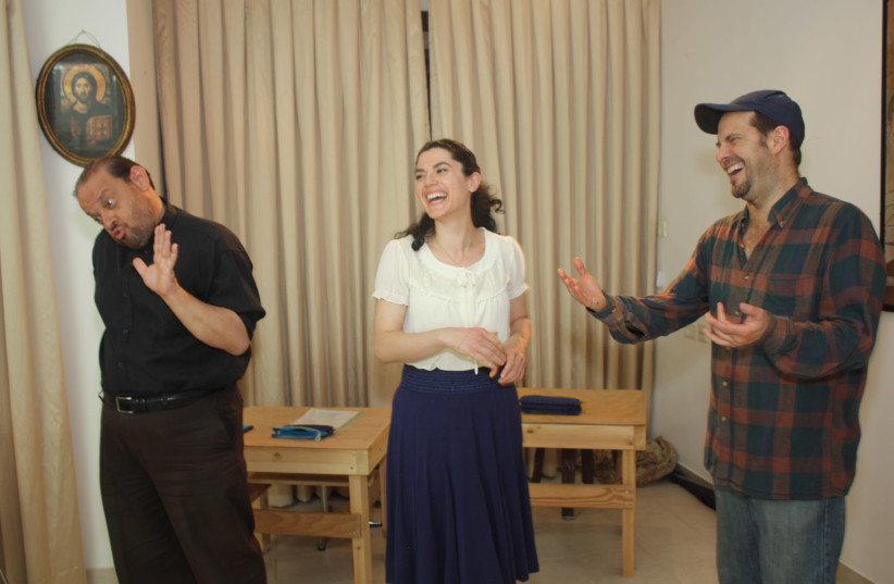 'OFF THE Derech Dolorosa' – a Catholic comedy that couldn't be more relevant to Jews and Israelis. (photo credit: AVRAH LEVINE)