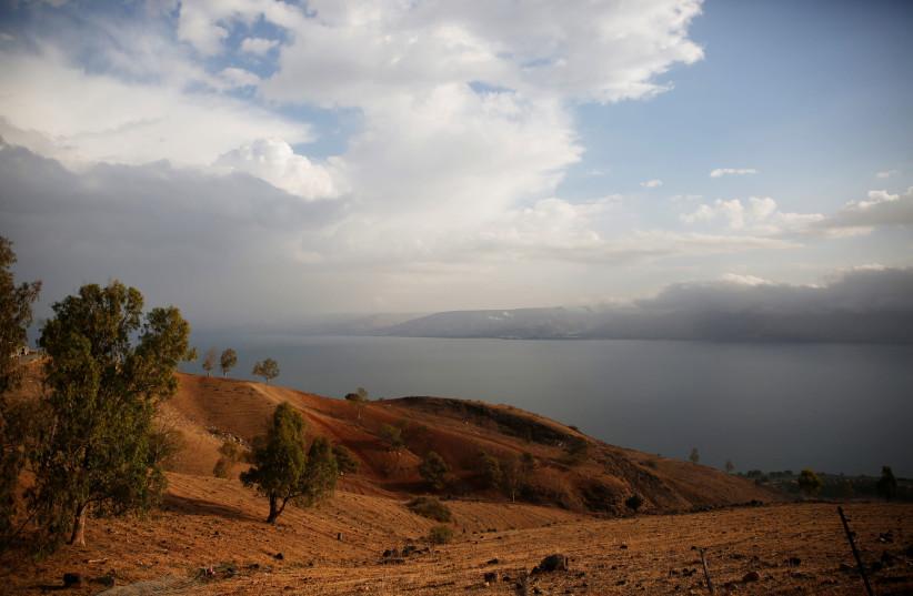 The Sea of Galilee is seen near Tiberias (photo credit: REUTERS/Ronen Zvulun)