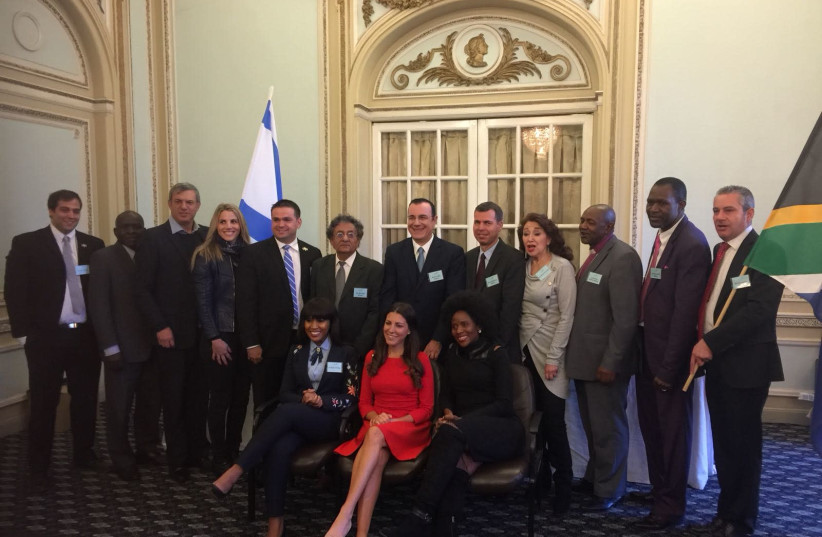 Anti-boycott event hosted by the Ministry of Strategic Affairs in South Africa to counter BDS (photo credit: SOUTH AFRICAN FRIENDS OF ISRAEL)