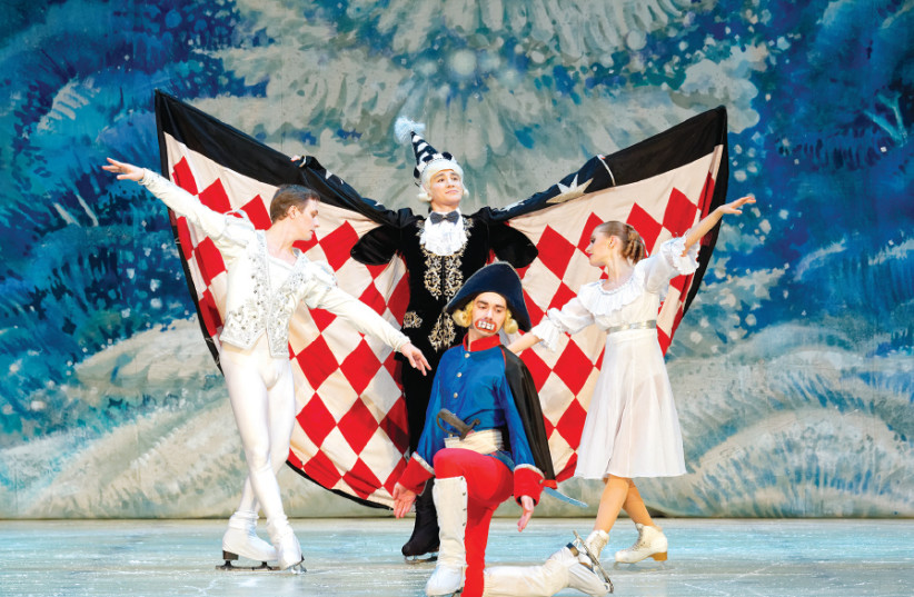 The Saint Petersburg State Ballet on Ice performs 'The Nutcracker on Ice' (photo credit: VLADIMIR SMIRNOV)