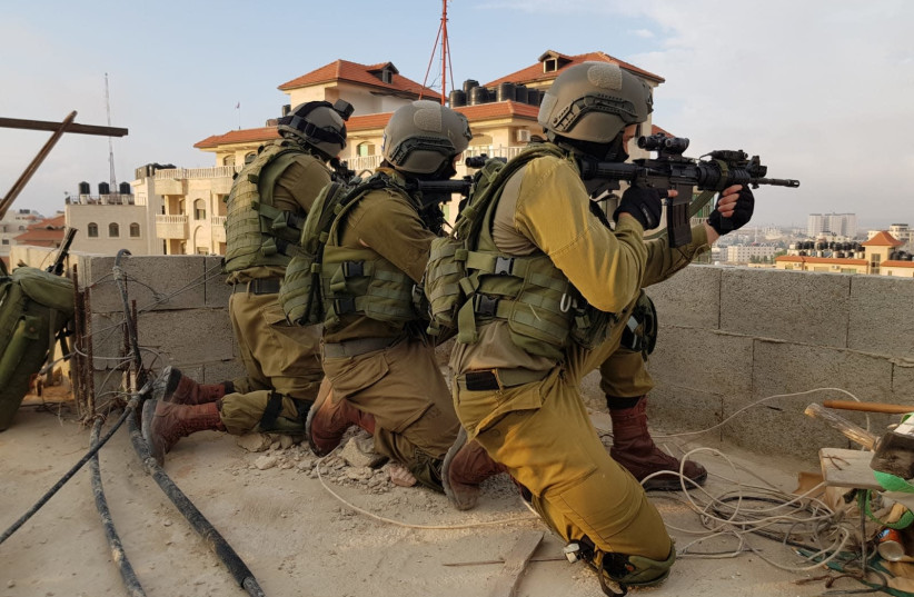 IDF soldiers of the Duvdevan Unit (photo credit: IDF SPOKESPERSON'S OFFICE)