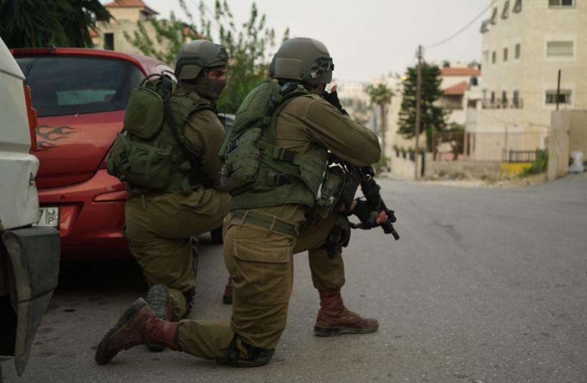 Soldats de Tsahal lors d'activités en Cisjordanie (crédit photo: BUREAU DU PORTE-PAROLE DE Tsahal)