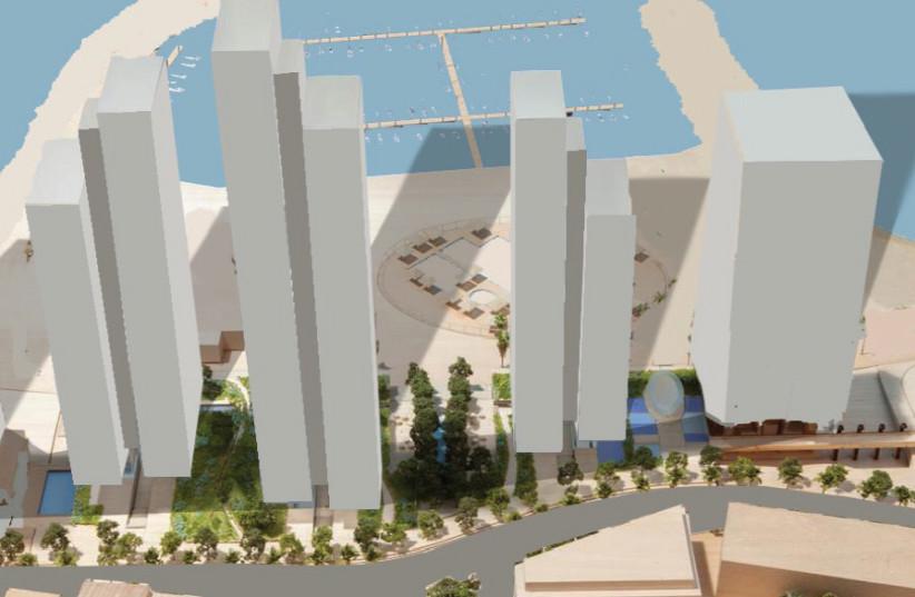 THE PLAN for the towers at Kikar Atarim (photo credit: PR)