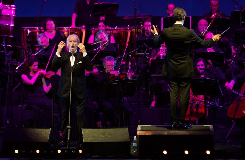 José Carreras in Ashdod alongside the Jerusalem Symphony Orchestra (photo credit: GUY PRIVES)